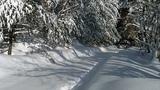 Jeep Liberty - deep snow