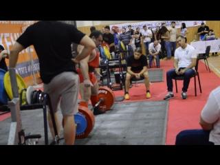 Марченко Владимир. Становая тяга 345 кг