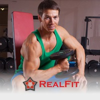 Логотип Cтудия персонального тренинга RealFit г.Ижевск