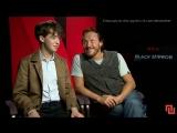 Flynn & Lawther Interview «Black Mirror» [sub rus]