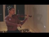 Кавер на скрипке песни из фильма