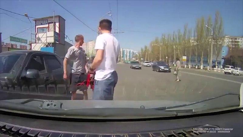 В Самаре женщина-пешеход с железными нервами