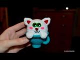 Амигуруми   Котик в чашке   Полимерная глина   Мастер-класс   Творчество