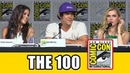 The 100 Comic Con Panel 2015 - Eliza Taylor, Marie Avgeropoulos, Bob Morley, Ricky Whittle