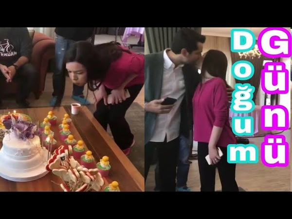 Adını Sen Koy.Hazal Subaşının doğum günü partisi Part-1..Erkan Meriç sevgilisini nasıl tebrik etdi