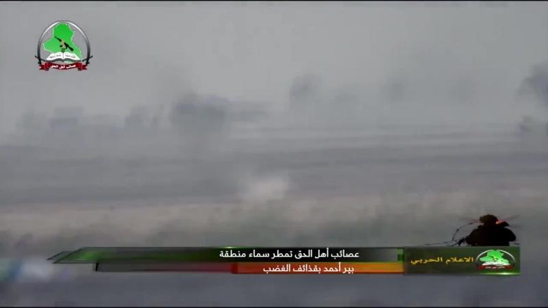 Ирак уничтожение технички Игил из ПТРК 9К135 Корнет Корпус Бадр