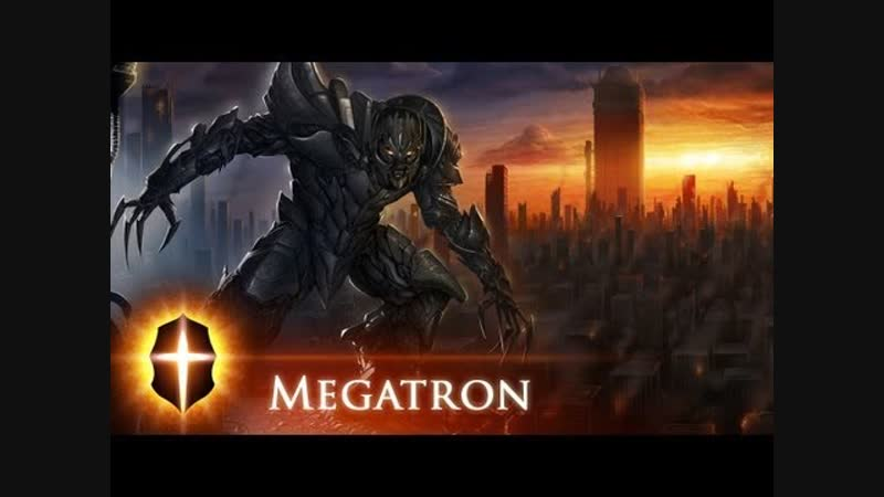 Megatron - Original SpeedPainting by TAMPLIER 2011