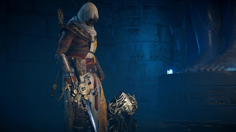 Assassins Creed Origins щит и меч