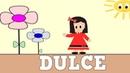 Aprender a Leer y Escribir DULCE - Nombres de NIÑA - Vídeos para niños