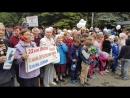 Памятный митинг прошел в сквере Павших Героев