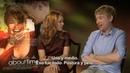 About Time - Entrevista a Domhnall Gleeson y Rachel McAdams