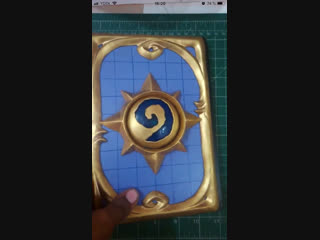 I Crafted A Hearthstone Journal For My Friend!