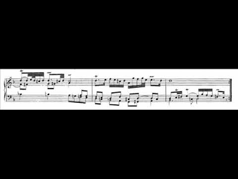 J.S. Bach - BWV 753 - Jesu meine Freude (fragment)