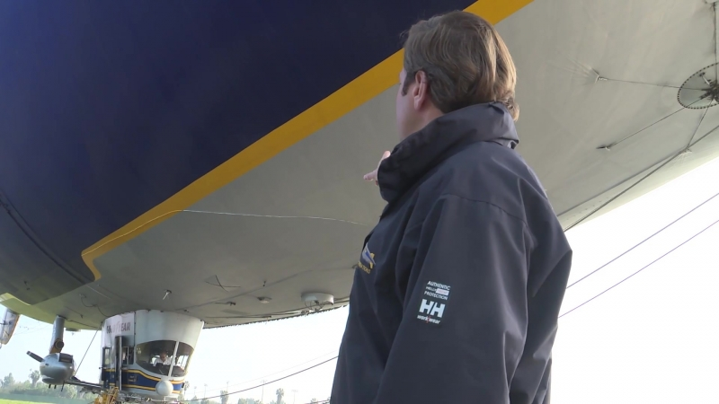 Curiosity Correspondent The Goodyear Blimp ¦ Los Angeles Times