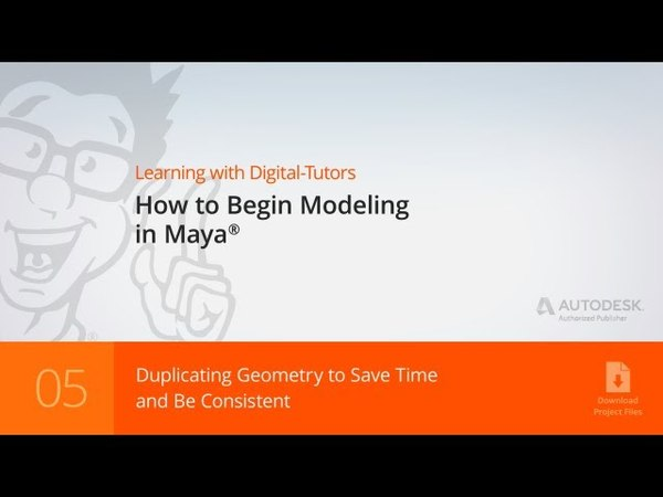 Maya Tutorial: Duplicating Geometry to Save Time and Be Consistent