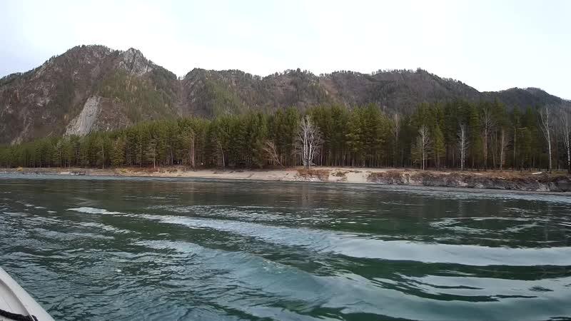 Курс на Голубые озера Маршрут проложен по р Катуни