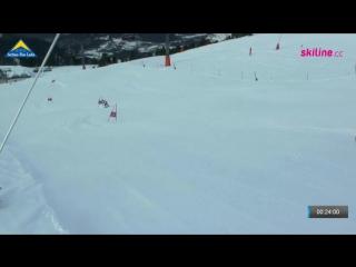 Austria, fiss-serfaus-ladis, slalom slope, maria goldshtein