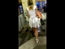 Под юбкой в метро upskirt 720p