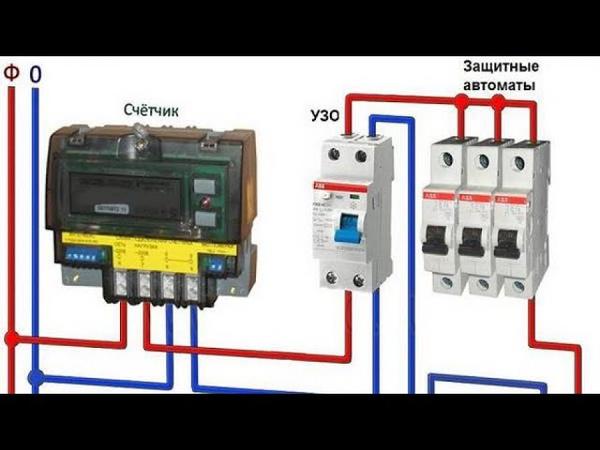 Серия 5: установка электричества с нуля, собираю счётчик EKF electrotechnica однофазный, автомат leg