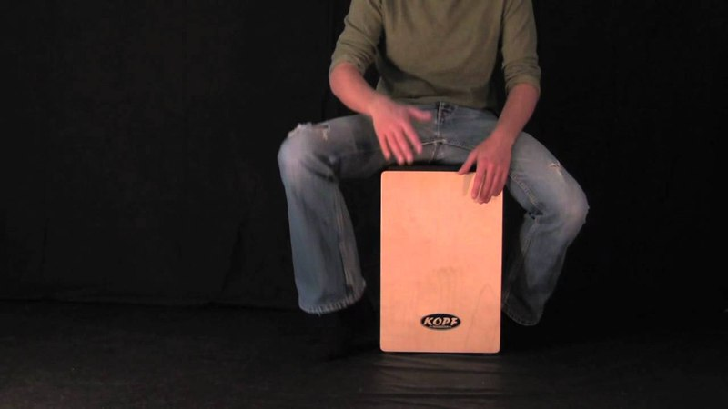 Cajon Lesson - Hip Hop