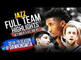 Utah Jazz Full Team Highlights 2018.10.05 vs Adelaide 36ers - 129 Points! FreeDawkins