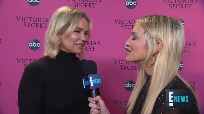 Yolanda Hadid Is So Excited for Gigi Bella on the VS Runway _ E! Red Carpet Award Shows