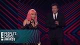 Nicki Minaj Shoots Her Shot at Michael B. Jordan E! People's Choice Awards