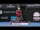 WTA Sydney QF 2018 Cibulkova vs Kerber