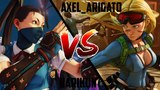 SFV narikun (Ibuki) vs. Axel_Arigato (Cammy) Street Fighter V