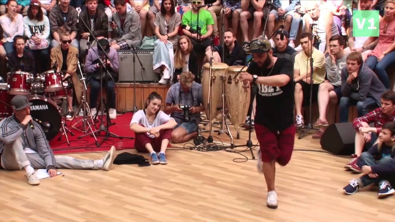 V1 Battle 2015. Freestyle Dance. Final. Atajan vs Tadj