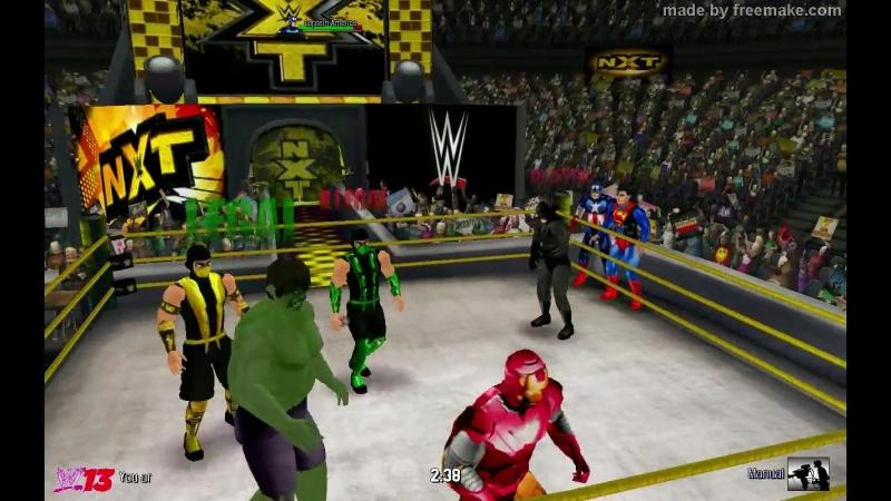 Мстители и Лига Справедливости против Скорпиона, Рептилии, Халка и Красного Халка