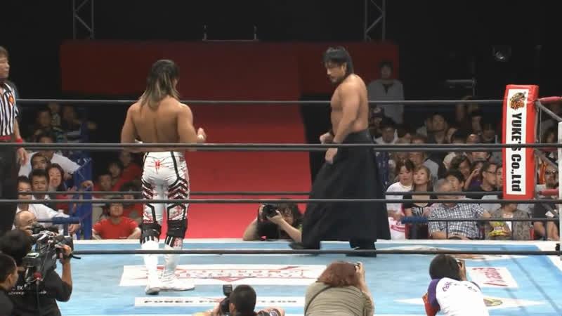 Hiroshi Tanahashi(с) vs. Shinsuke Nakamura Match for the IWGP Heavyweight Title (Wrestling Dontaku)