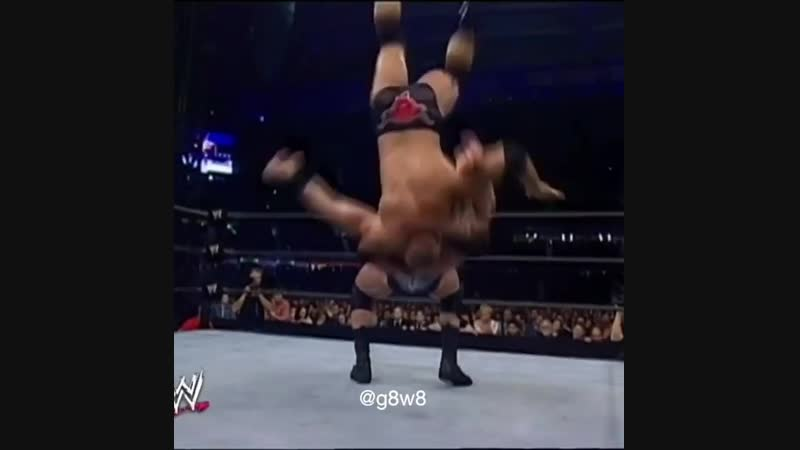 The Rock vs Triple H vs Brock Lesnar Global Warning 2002