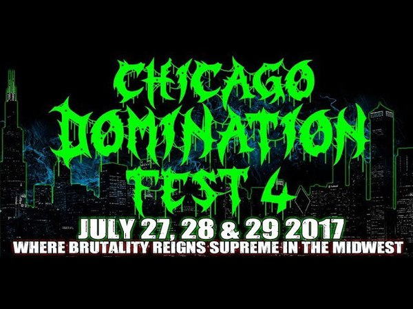 Chicago Domination Fest 4 - Full 3 Day Compilation - The Wire - Berwyn, IL