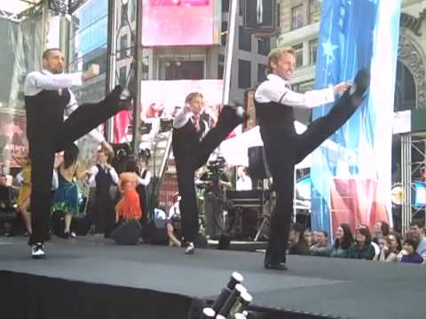 BURN THE FLOOR at Broadway on Broadway 2009!
