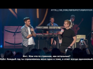 Niall Horans Slow Hands Came Musically First _ iHeartRadio Album Release Party [RUS SUB]
