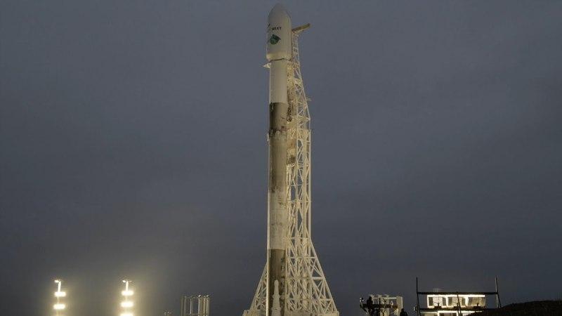 Falcon 9 ready to launch GRACE-FO and Iridium-6