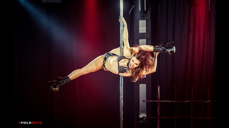 Pole Tutorial - From ballerina to over split combo - Liv Int/adv