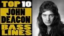 Top 10 Queen / John Deacon bass lines