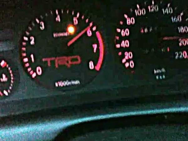 95 Toyota Corolla 1.3 XLi 4EFE Acceleration Top Speed