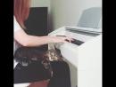 Christina Aguilera – Hurt (piano)
