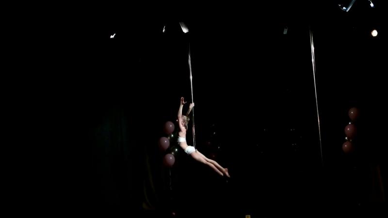 STUDIO 64. Отчетный концерт. Татьяна Новикова. Pole dance.Хореограф Федосеева Екатерина
