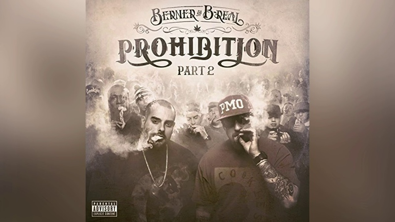 Berner B Real Ain't Nothin feat Cam'ron Audio Prohibition 2