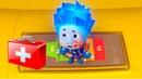Детский уголокKidsCorner Лучшие Игры с Фиксиками Нолик и Симка Играют мультик для детей