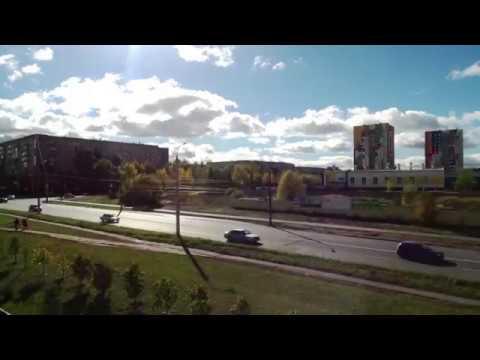 Видео с квадрокоптера Walkera Vitus 320 (без цветокоррекции)