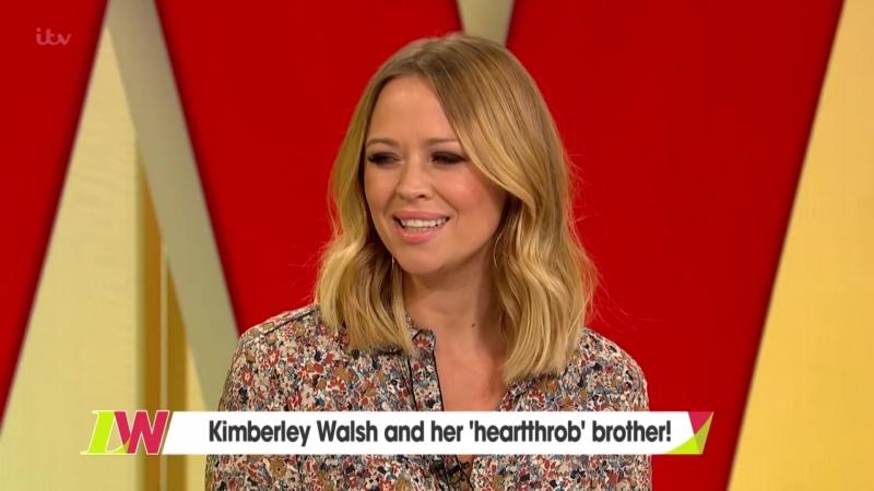 Kimberley Walsh Has Play Dates With Cheryl Tweedy and Her Son Bear Loose Women
