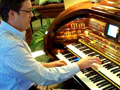 Organ Blossom Special ~ Rex Peterson performs on a Lowrey Organ in Kansas City