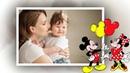 Красивое детское слайд-шоу Микки Маус