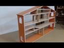 Кукольный домик для кукол барби, винкс. Дом для игрушек. Полки-кидс. ру