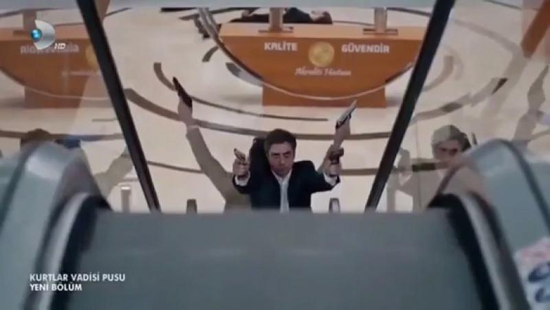 """Kurtlar Vadisi Pusu 5.Bölüm """"Polat ve Cahit sırt, sırta!"""""""